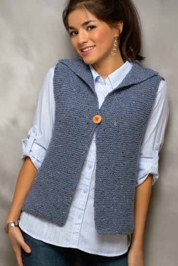 Knitting Patterns Ladies Vest Free : Genc Kizlar icin orgu Yelek Modelleri